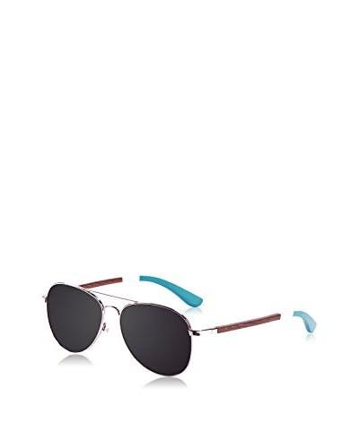 Ocean Ski Gafas de Sol Polarized San Remo (58 mm) Plateado