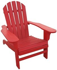Stonegate® Red Painted Cedar Adirondack Chair