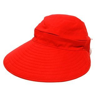 physician-endorsed-womens-naples-red-cotton-cap-visor