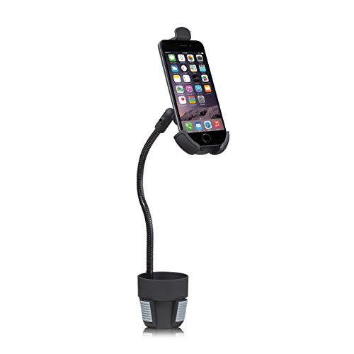G-Cord Extra Long Arm Adjustable Automobile Cup Holder Mount (Black) (Phone Holder For Car Cup Holder compare prices)