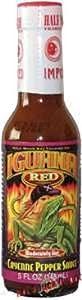 Hot Sauce Depot 60141020 Iguana Red Cayenne Pepper Sauce, 5oz - Pack of 3 from Hot Sauce Depot
