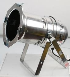 Dmx Controlled Led Par 64 Lamp-36 X 3W Rgb Led'S-Chrome