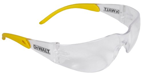 Dewalt DPG54-1C Protector Clear High Performance Lightweight Protective Safety Glasses with Wraparound Frame images