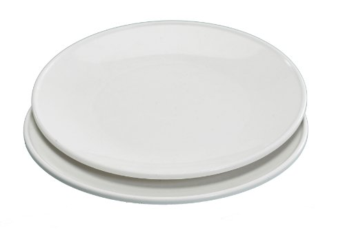 Nordic Ware Set of 2 10 Inch Microwave Dinner Plates