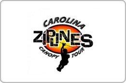 Carolina Ziplines Canopy Tour Gift Certificate ($60) front-875472