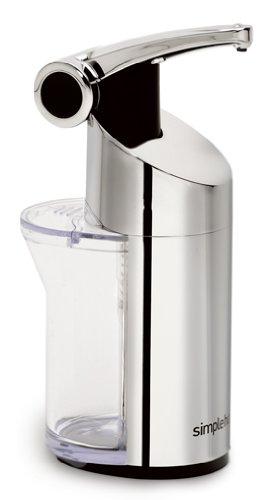 simplehuman Push Pump, for Soap or Lotion, 10 Ounces