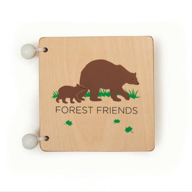Kid O Forest Friends Wooden Book