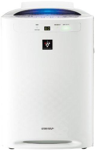 【PM2.5対応】SHARP プラズマクラスター搭載 加湿空気清浄機 ホワイト系 KC-B50-W
