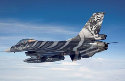 Revell - 64691 - Maquette - Model Set F-16 Mlu - Tigermeet'09