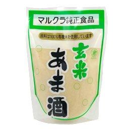 マルクラ 有機米使用玄米あま酒 250g×20個
