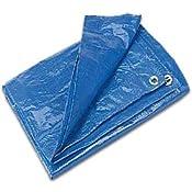10′ x 10′ Blue Small Tarp (12 Tarps)