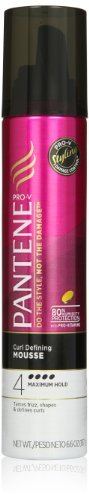 Pantene Pro-V Curl Defining Hair Mousse 6.6 Oz Pack of 3
