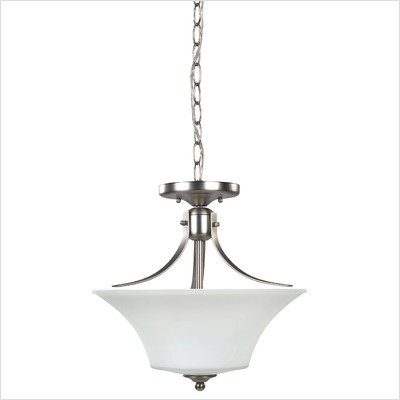 CANARM LTD. ICH365A03BPT14 St.Germain 3 Bulb Chandelier Light, Brushed Pewter