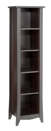 Elegance Bookcase 200217 from Nexera, Espresso (Narrow Espresso Bookcase compare prices)