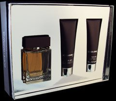 The One for Men by Dolce  &  Gabbana 50ml Eau de Toilette Spray, 50ml Aftershave Balm  &  50ml Shower Gel