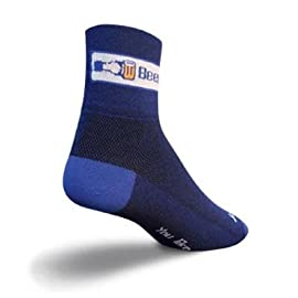 SockGuy Classic 3in Like Beer Cycling/Running Socks