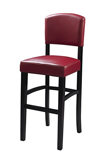 Dark Red Kitchen Counter Stool