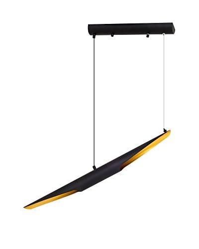 Light&Design Lámpara De Suspensión Newz Negro