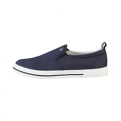 Trussardi Jeans 77S053 Mocassino Uomo Tessuto Blu Blu 44
