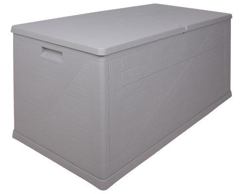 Kissenbox Wood warmgrau