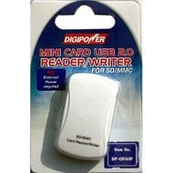 Digipower DP-CR16W Card Reader Writer for SD & MMC Memory Cards