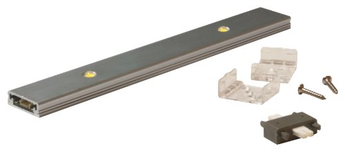 American Lighting Ruler-2 Low Profile Led Ruler With 350Ma Constant Current, 7-1/8-Inch, 2.5-Watt, Satin Aluminum