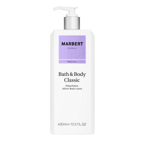 Marbert Bath & Body Classic Body Lotion latte idratante per il corpo 400 ml con dosatore