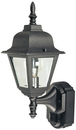 Buy Heath Zenith SL-4191-BK Die Cast Aluminum Motion Activated Lantern, Black
