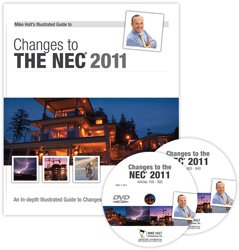 2011 Changes to the NEC DVD Program - Book and 2 DVDs -  - MH-11CCDVD - ISBN:B004L5DFCU