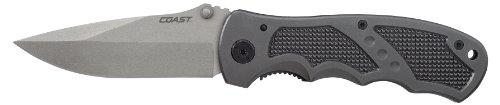 Coast DX320 Double Lock Folding Knife 3.5-Inch Blade