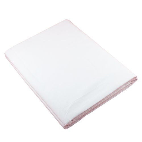 PhotoSEL BK13CW White Screen 100% Muslin Backdrop