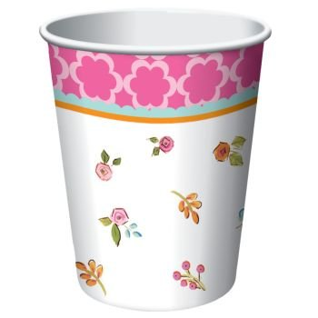 Tea Time Hot/Cold Cup 9 oz. (8) Party Supplies