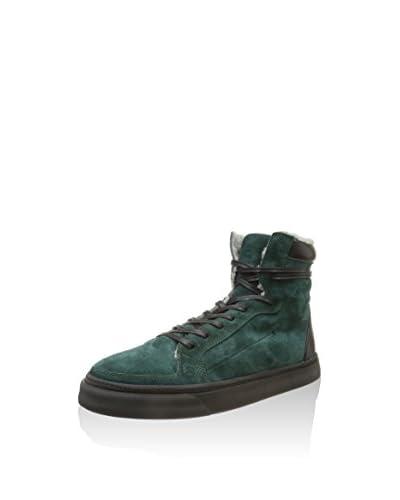 Costume National Sneaker Alta [Verde]