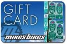 Mike's Bikes Gift Card - $10