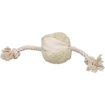 Naturals Rope with Ball Dog Toy