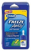 DR. SCHOLLS FREEZE AWAY WART REMOVER 1.18 OZ (Freeze Away Wart compare prices)