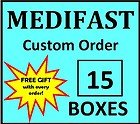 Medifast Custom Order You Choose Any 15 Boxes of Meals (15 boxes of any medifast)