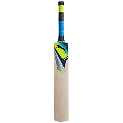Puma Pulse 1700 English Willow Bat, Men (Green), Size 6