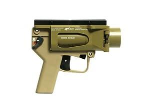 Mad Bull Airsoft AGX Full Metal BB Shower Grenade Launcher - Tan
