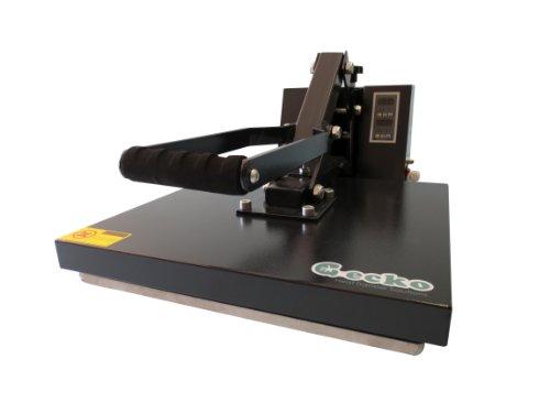 GECKO GK101-PRO 15-Inch by 15-Inch Heat Press Machine with Non-Stick Sheet
