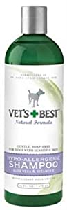 Vet's Best Hypoallergenic Shampoo with Aloe Vera, 16oz