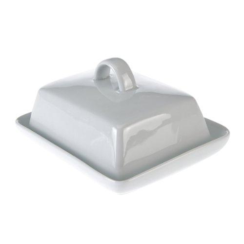 axentia-Butterdose-Porzellan-schlichte-und-zeitlose-Butterglocke-Butterschale-fr-Kche-und-Haushalt-superweies-Butterbehltnis-platzsparend-klassisch-elegant-Buttergef-verpackt-im-Karton-16-x-13-x-6-cm