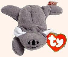 TY Teenie Beanie Babies Mel the Koala Bear Plush Toy Stuffed Animal