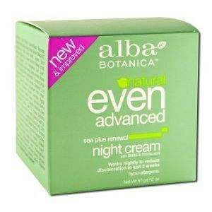 Alba Botanica Natural Even Advanced Sea Plus Renewal Night Cream 2 fl oz