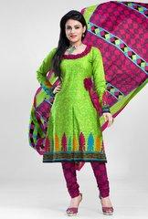 Shaily Retails Women's Unstiched Pure Cotton Dress Material