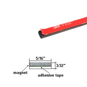 Amazon Com Flexible Magnetic Strip With High Bond 3m