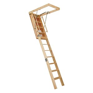 Century 8.9 ft. Spacemaker Wooden Attic Stair