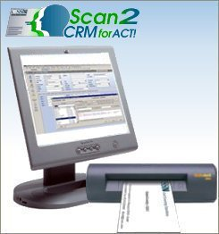 Card scanning solutions buy card scanning solutions products cssn act addon business card scanner and reader to act reheart Images