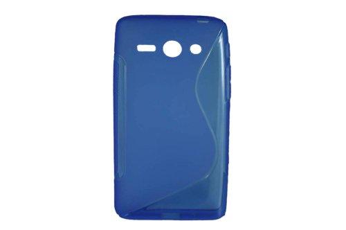 S-Linie TPU Schutz Flexible Tasche Schale für Huawei Ascend Y530 C8813 Blau