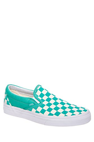 Checkerboard Slip-On Low Top Sneaker